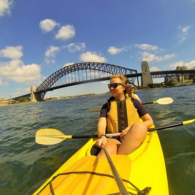 Under the Sydney Harbour Bridge Morning Kayak