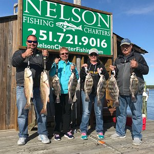 Nice Trip with Nelson Charter Fishing!