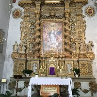 Baroque altarpiece of Chiesa dell'Immacolata