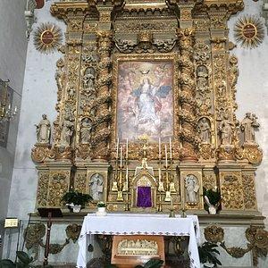 Baroque altarpiece of Chiesa dell'Immacolata