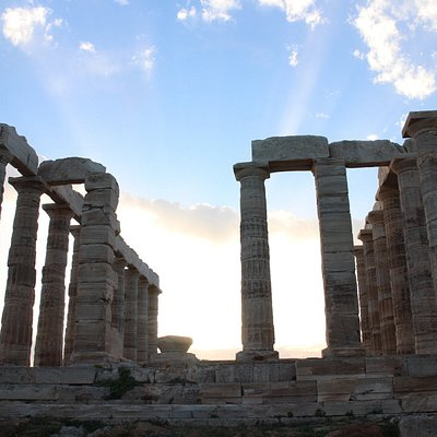 The majestic Temple of Poseidon