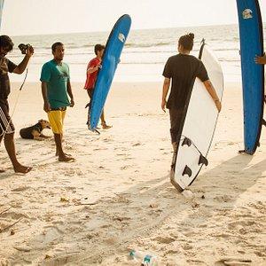 surfing adventuresome