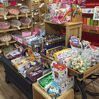 We offer a large selection of old fashioned candy!