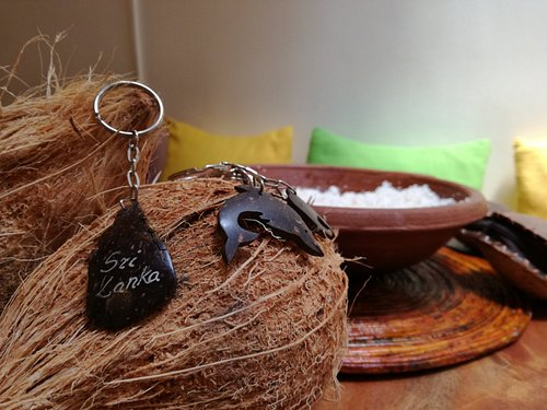 Coconut key tags