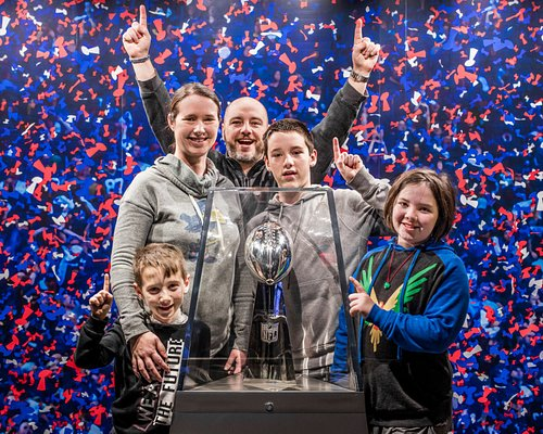 Take a picture with the Vince Lombardi Trophy!