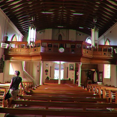 The whole church
