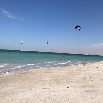 Amazing spot to learn kitesurfing
