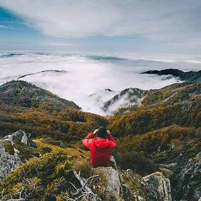Above the clouds. İsmayilli mountains