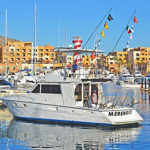The Merengue40ft, with the capt Roberto Snr.