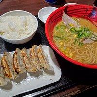 Gyoza, Ramen & Rice set