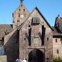 Riquewihr - Porte Haute (2e enceinte devant la porte Dolder)