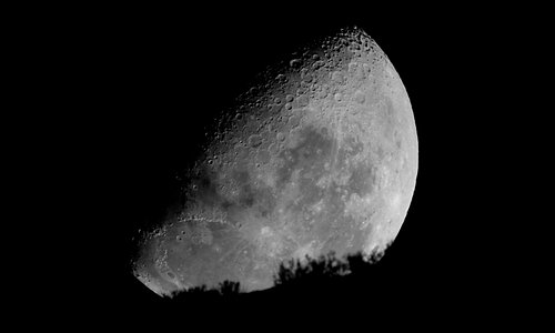 Moon rise, Observatorio Chakana, Pisco Elqui, Chile.