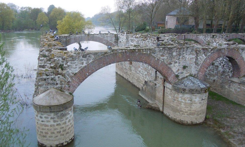 Détail des arches du moulin