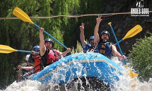 Rafting Andes Soul