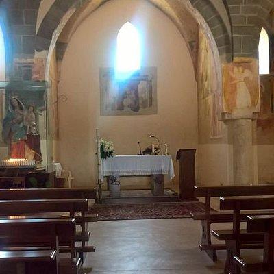 Chiesa di Santa Maria a Marciano (Piana di Monte Verna - CE): interno