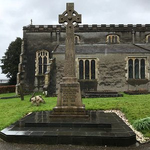 A lovely church and graveyard, well worth a visit. Some great stained glass windows.