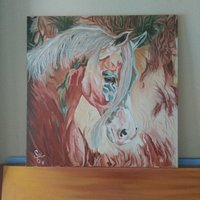 Yağlı boya çalışmam guler_art (ınstagram)sabriye güler ünal