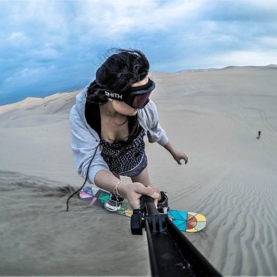 International SandSnow School |  SANDBOARDING AND SANDSKIING
