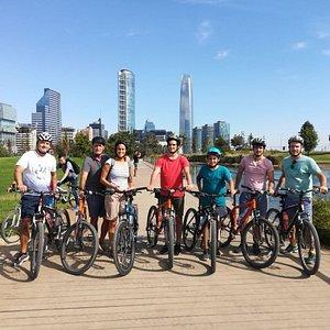 Bike tour II: Rascacielos y parques