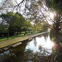 The Meadows play park, Tavistock Canal