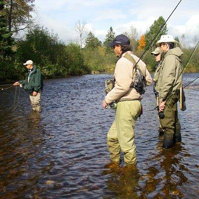 Advanced Training On-Water techniques / Entraînement avancé en rivière