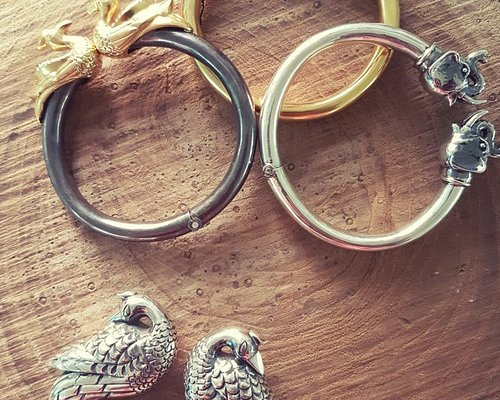Handcrafted 92.5 Silver jewellery