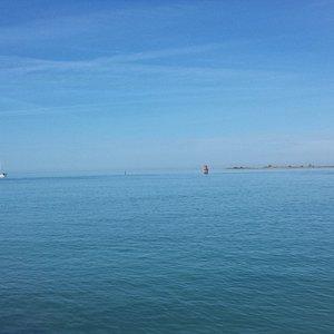 Vista sul mare e la laguna