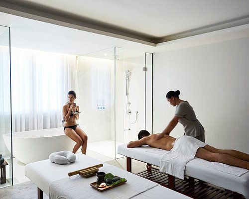 Spa treatments may be availed in the hotel rooms, at the poolside and in the spa rooms.