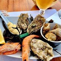 seafood is always fresh !