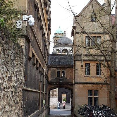 Logic Lane, view towards the High Street