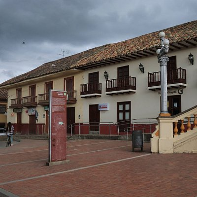 The Plaza in Guasca, Colombia, December 2017