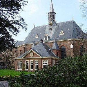"""""""17de eeuwse Dorpskerk Bloemendaal uit het jaar 1636"""""""