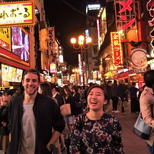 Explore hidden pubs and bars with a local guide on Osaka Bar Hopping Tour