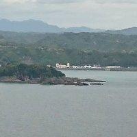串本町古座、古座川の河口約1沖合いに浮かぶ無人島