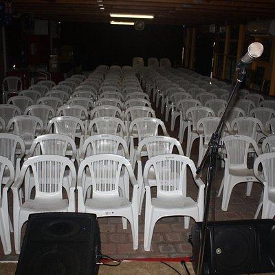 160 seat Auditorium - fully air conditioned - LBS Artist Memorabilia