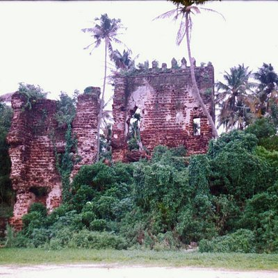 photos of the ruined fort