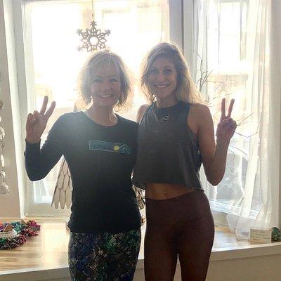 Yoga Ginger is a studio full of sunshine and joy!