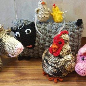 Fun, soft crochet animals