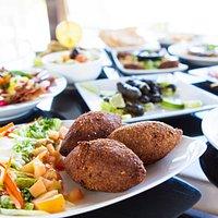 For exquisite Mediterranean food, Steaks, Burgers, Salads & Seafood. Excellent food & Excellent