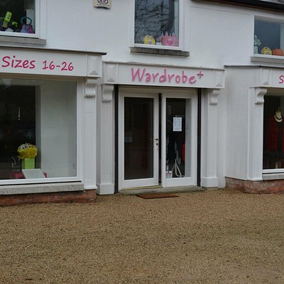 Specialist boutique for ladies fashion in sizes from 16 to 28.  Check us out www.wardrobeplus.ie
