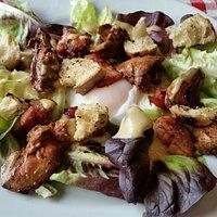 Excellente salade de foie de volaille