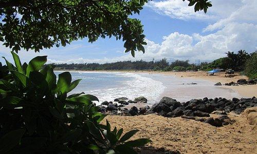Kealia Beach, Kauai looking south