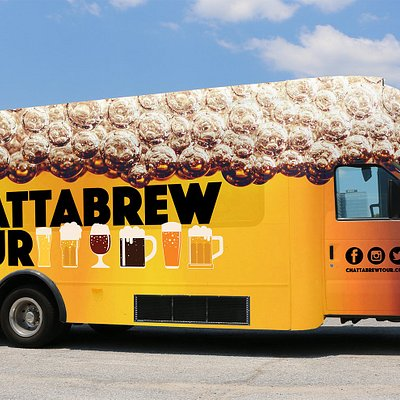 Board the ChattaBrew Tour brew bus for your tour today!