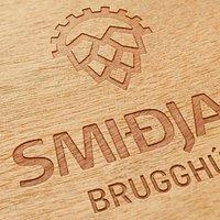 Smidjan Brugghús logo 2