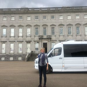 Mia takes guests to visit Castletown House