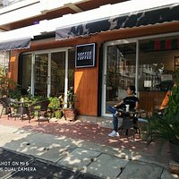 just come and have a seat , we will serve you a great cup of Myanmar coffee.