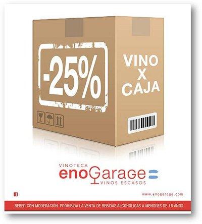 25% Descuento llevando & vinos.