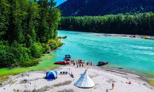 We can arrange an overnight camp out by the river bank