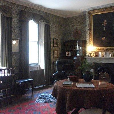 カーライルの書斎