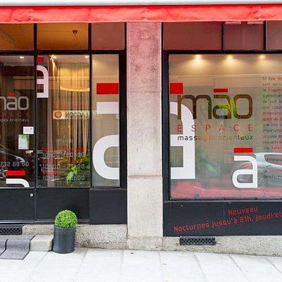 Notre établissement de la Rue Vallin 10 / Our shop of Vallin 10 in Geneva